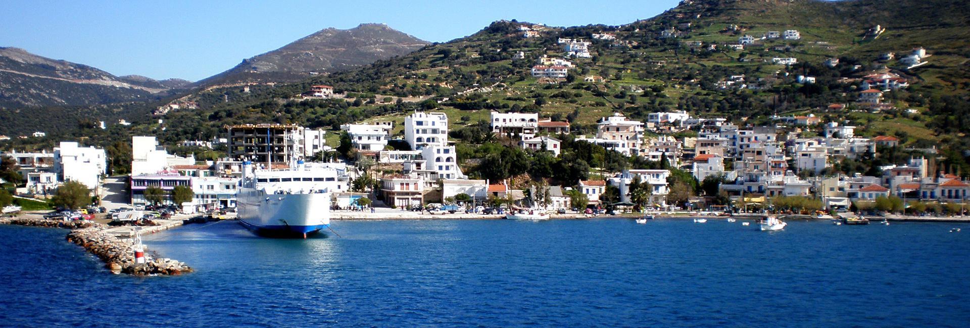Marmari Port Evia Island Cnway