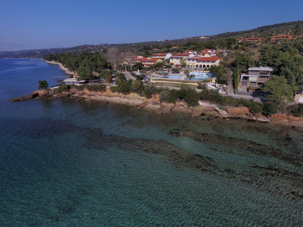 Παραλιακό μέτωπο ξενοδοχείου Elea Village