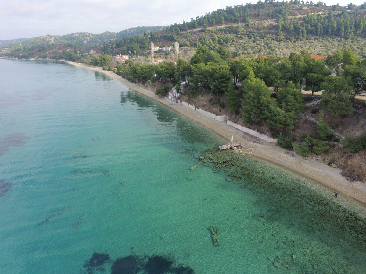 Παραλιακό μέτωπο ξενοδοχείου Αthena Pallas Village